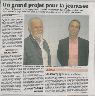 Bressuire - article presse